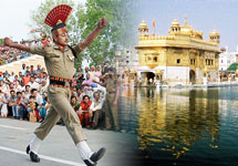 golden temple & wagah border